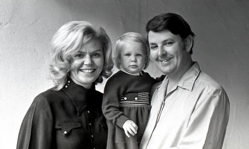 Inga, Christina, and Bill Lillyman