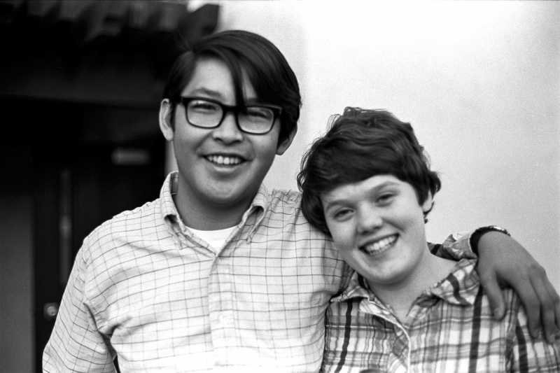 Henry Chu and Ann Sorensen