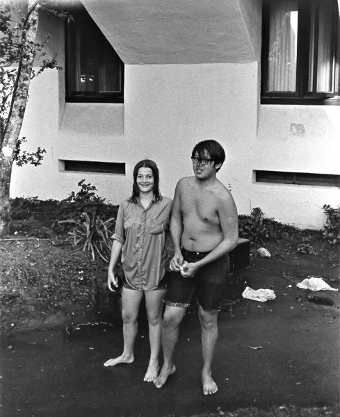 Lisa Rose and Henry Chu