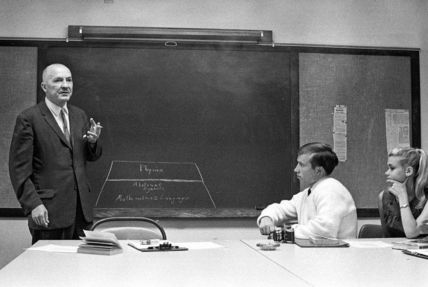 Guest Lecturer Robert Heinlein