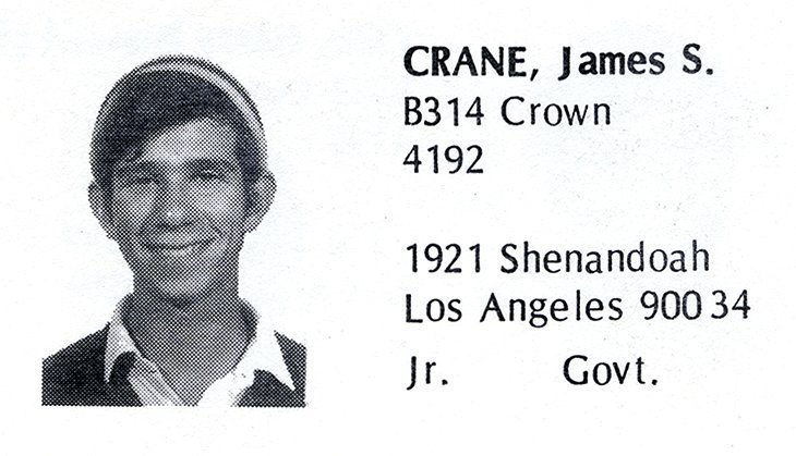 Crane, James (Crown '70)