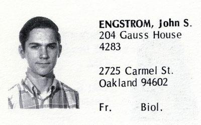 Engstrom, John (Crown '72)