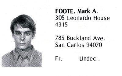 Foote, Mark (Crown '72)