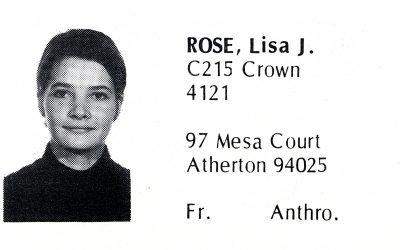 Rose, Lisa (Crown '72)