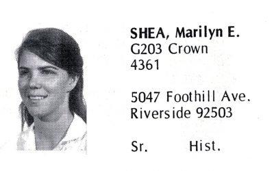 Shea-Stonum, Marilyn (Crown '69)