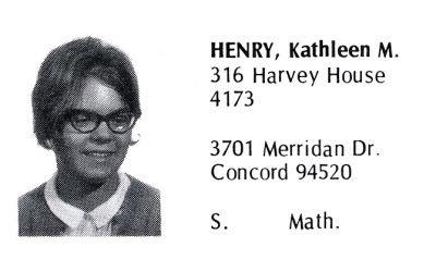 Henry, Kathleen (Crown '71)