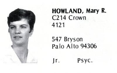 Howland, Mary (Crown '70)