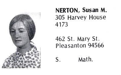 Nerton, Su (Crown '71)