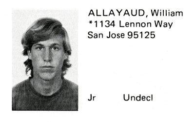 Allayaud, William (Crown '73)