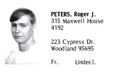 Peters, Roger (Crown '72)