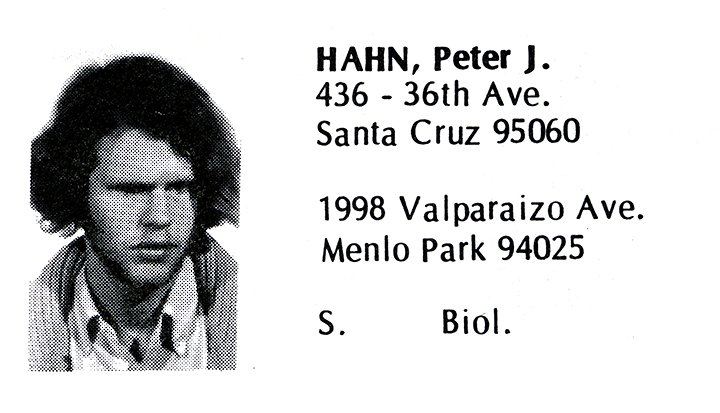 Hahn, Peter (Crown '71)