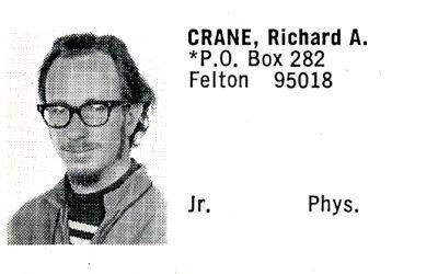 Crane, Richard (Crown '71)