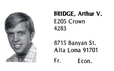 Bridge, Arthur (Crown '72)