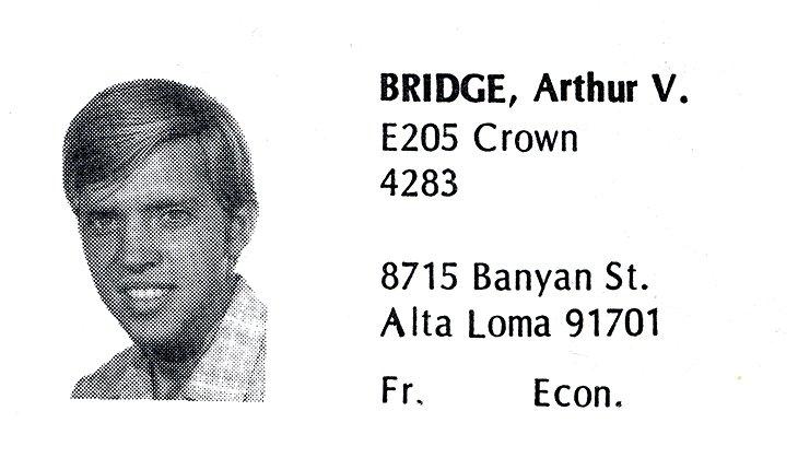 Bridge, Arthur 1972